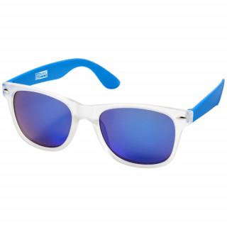 California exklusive Designer Sonnenbrille, blau,transparent