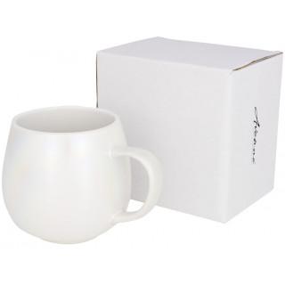 Glitz 420 ml schimmernde Tasse, weiss