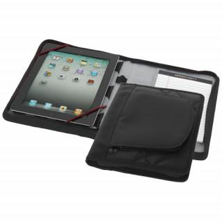 iPad Hülle mit A5 Notizbuch, schwarz