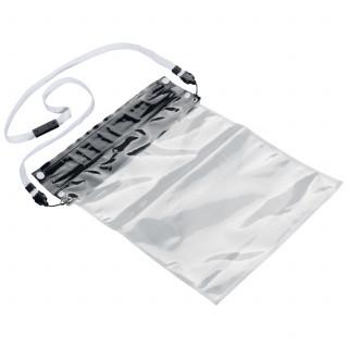 Wasserdichte Hülle für Tablets mit speziellen Verschluss, schwarz