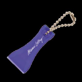 Schlüsselanhänger Eiskratzer SALE, dunkel blau