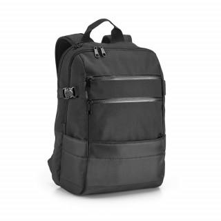 ZIPPERS Laptop-Rucksack, schwarz