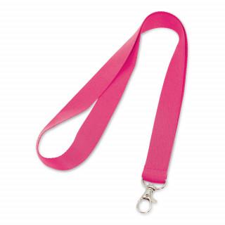 LARIAT Lanyard mit 20mm Breite, rosa