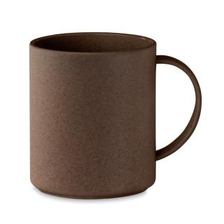 BRAZIL MUG Becher aus Kaffeehülsen 300ml, braun