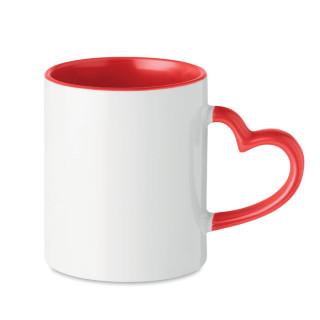 "Subli Keramiktasse ""Herz"", rot"