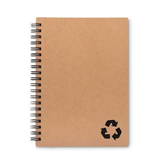 PIEDRA Notizbuch mit Steinpapier, schwarz