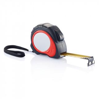 5m/19mm Maßband Tool Pro, rot, schwarz