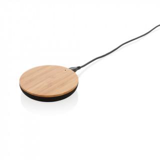 Bamboo X 5W Wireless Charger, braun
