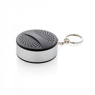 Lautsprecher am Schlüsselanhänger, schwarz, grau