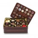 Geschenkartikel / Präsentartikel: Schokoladenauswahl - Pralinendose mit 125 g