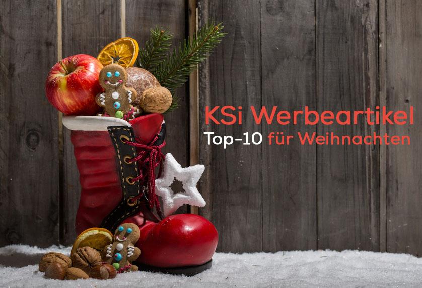 KSi Werbeartikel Top-10 Weihnachten