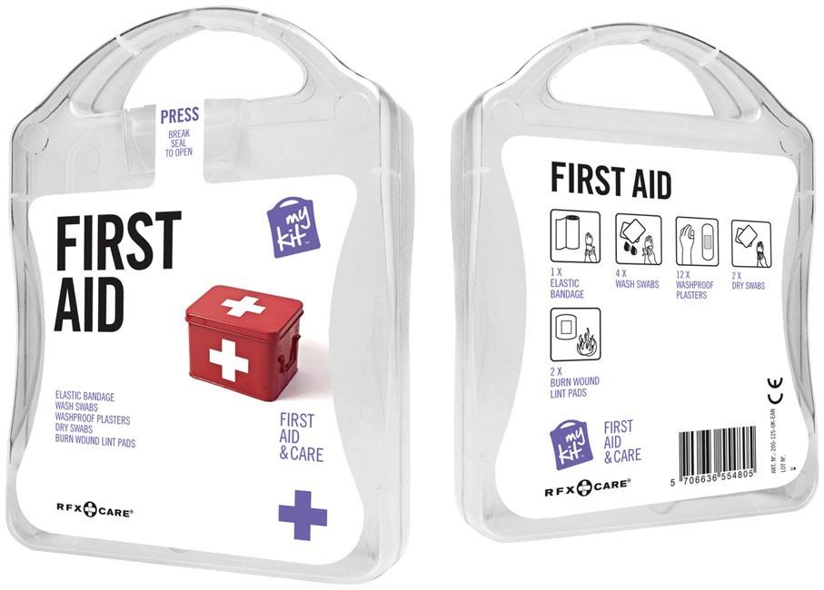 "MyKit ""First Aid"" als Werbeartikel bedrucken"