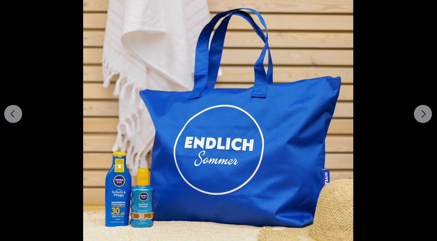 NIVEA die Strandtasche als Sommer-Must-have