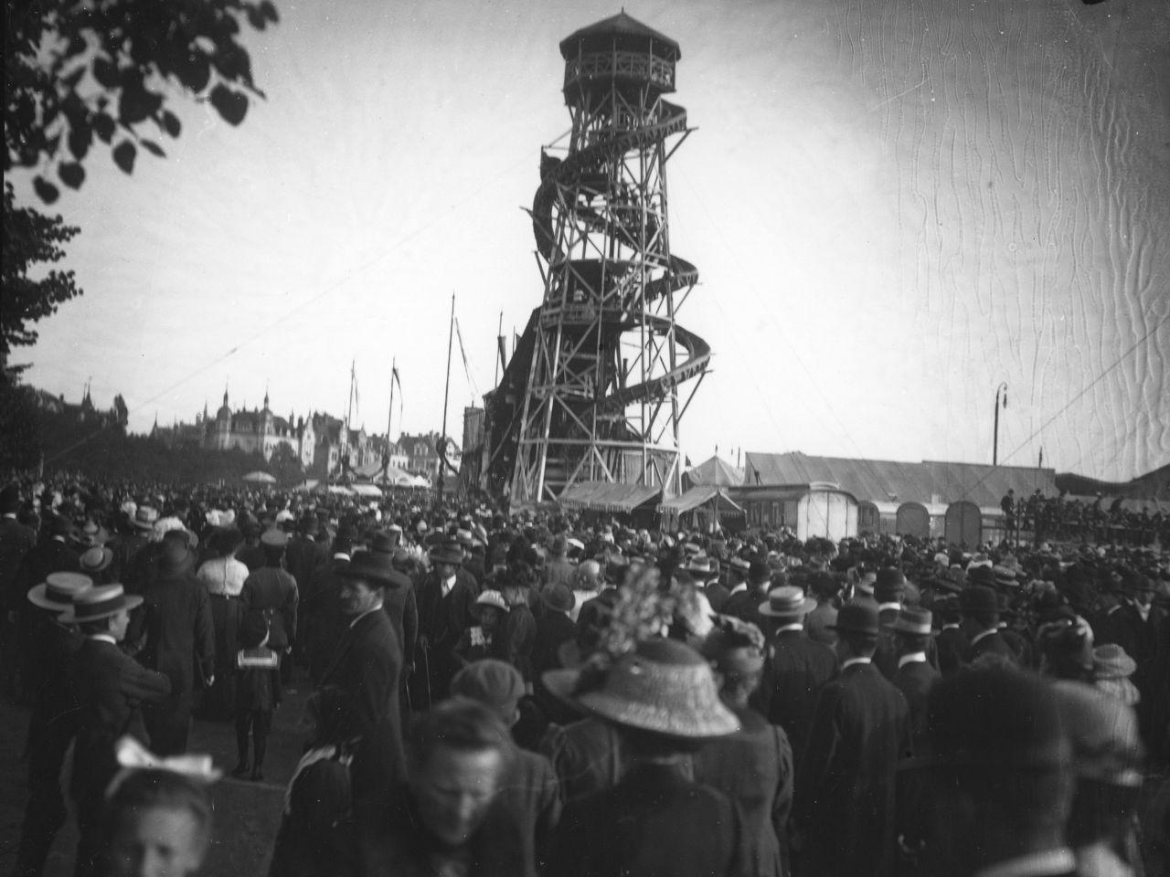 Das Toboggann 1913