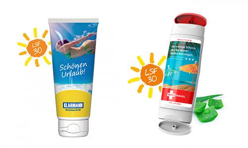 Werbeartikel für den SOMMER mit Logo bedrucken