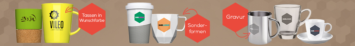 Tassen mit Logo bedrucken