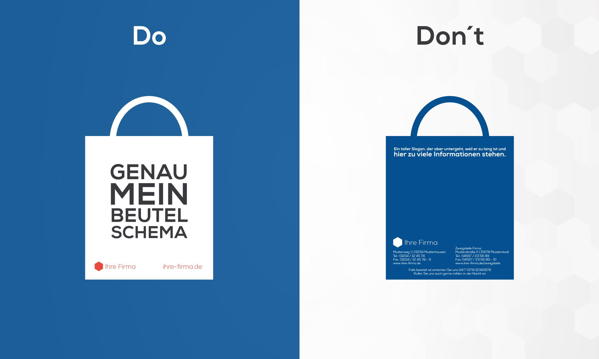 Dos und Don'ts bei Werbeartikeln
